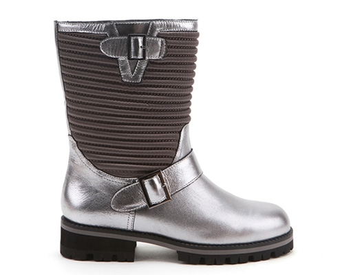 Biker Boot Steel+Black